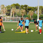 Футбол в летнем лагере в Аликанте, Испания-3