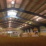 Верховая езда в летнем лагере для девочек в США-9