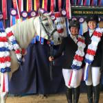 Верховая езда в летнем лагере для девочек в США-13