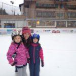 Горные лыжи в зимнем лагере в Швейцарии-10