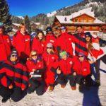 Горные лыжи в зимнем лагере в Швейцарии-3